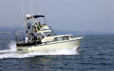 Hooker too lake superior fishing charter captainslake for Lake superior charter fishing