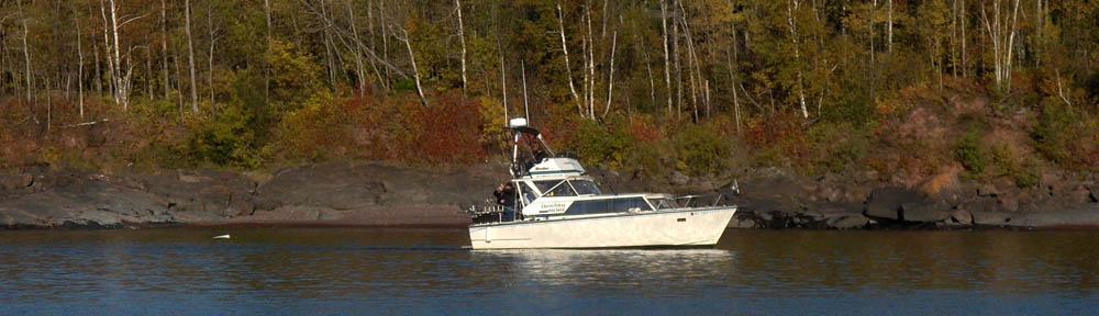 Lake superior charter fishing rateslake superior fishing for Fishing lake superior