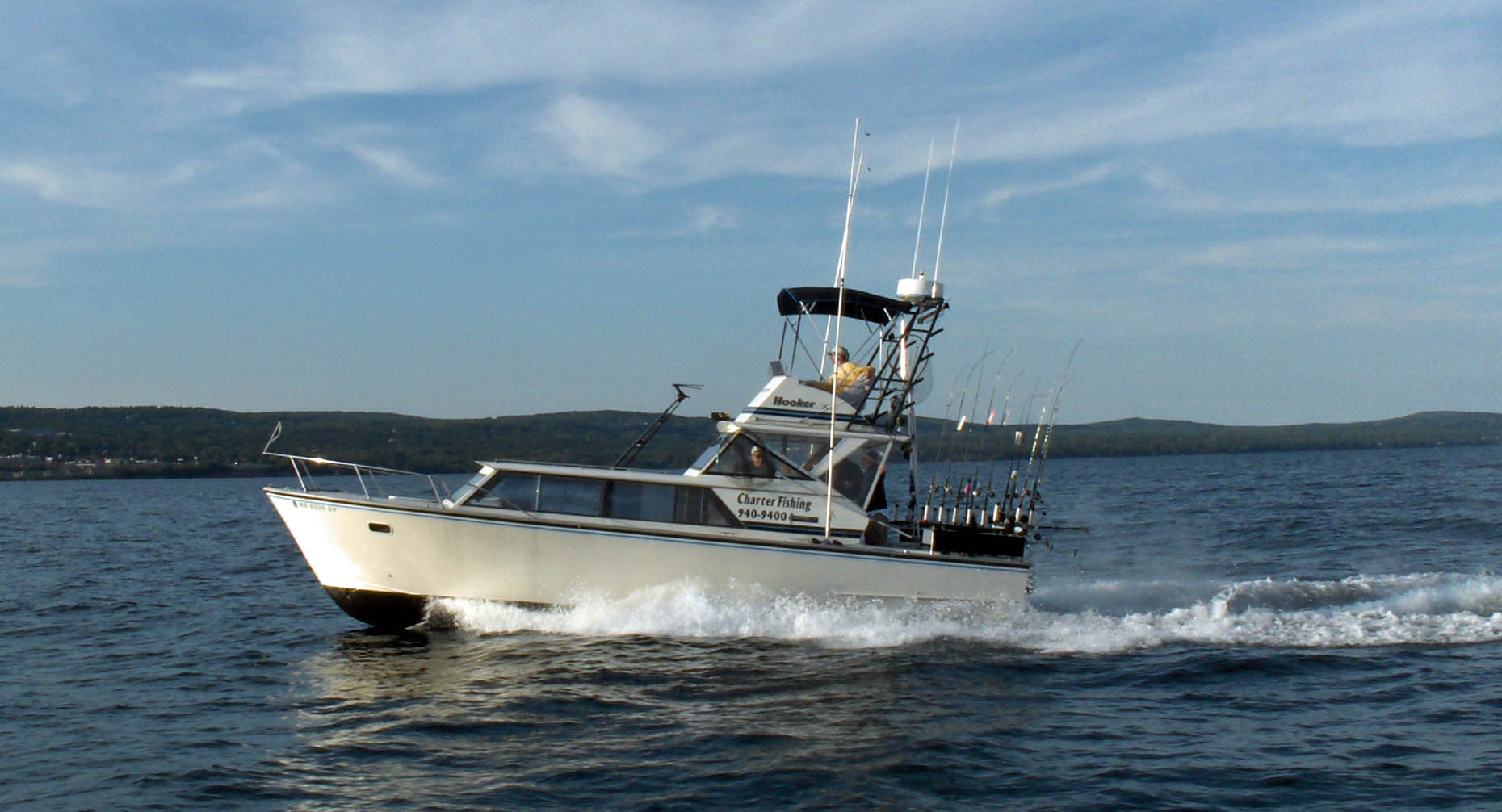 Lake superior charter fishing boats lake superior for Minnesota fishing charters