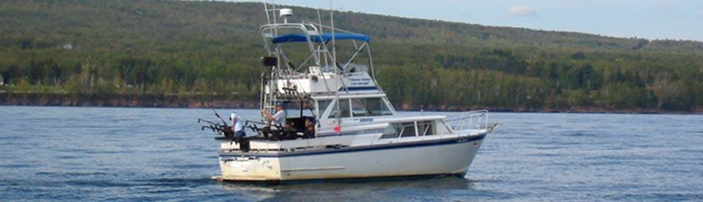 superior wi charter fishing boat