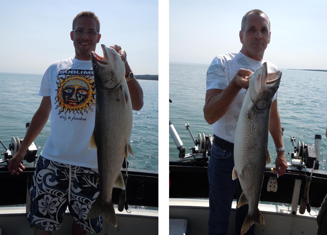 Lake superior fishing blog for happy hooker charters of for Lake superior fishing charters