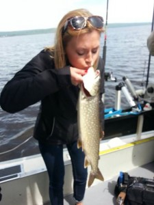 Fishing with high tech gadgets lake superior fishing for Lake superior salmon fishing